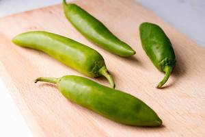Green Chilli Peppers