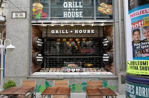 Grill house in Budapest
