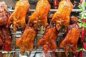 Grilled Ducks in Singapore