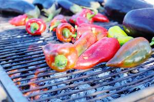 Grilled red peppers (Flip 2019)
