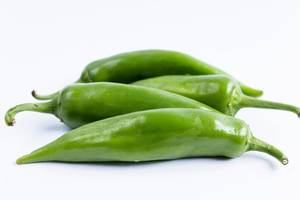 Grüne Paprika (engl. Green Peppers)