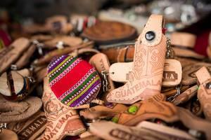Guatemala keychain souvenirs