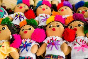 Guatemalan indian dolls