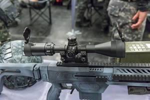 Gunsight on LARP rifle