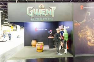 Gwent The Witcher Card Game - Gamescom 2017, Köln