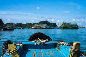 Ha Long Bucht Bootsfahrt in Vietnam