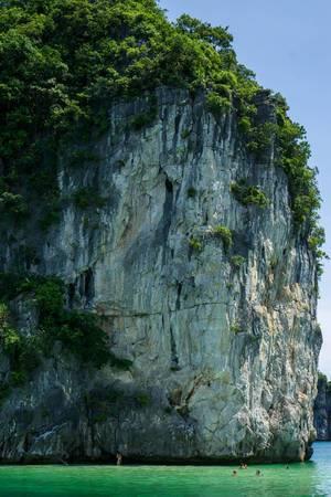 Ha Long Bucht Felslandschaft