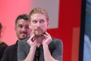 Haariger Wetteinsatz: Sarazar fürchet um den Verlust seines Barts