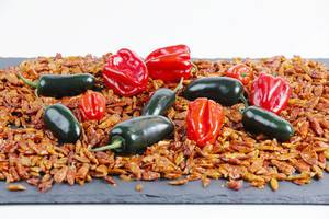 Habanero and Jalapeno on hot chili peppers (Flip 2019)