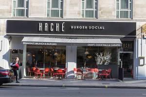 Hache Burger Lokal in London