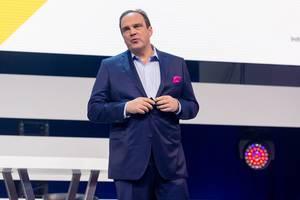 Hagen Rickmann, Geschäftsführer für den Geschäftskundenbereich der Deutsche Telekom und Digital X Schirmherr