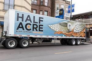 Half Acre Beer Company truck