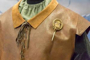 Hand of the King clothes and metal pin for cosplay and LARP