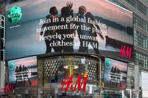 H&M auf Times Square
