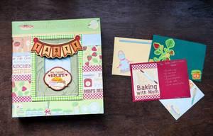 Handmade cookbook: Bakery