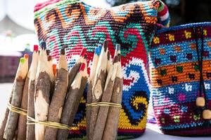 Handmade wax crayons