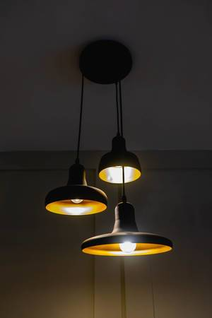Hanging ceiling lamps on a local cake house.jpg