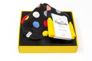 Happy Socks - Baumwollsocken in einer Geschenkbox