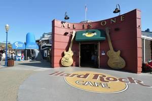 Hard Rock Cafe am Hafen von San Francisco