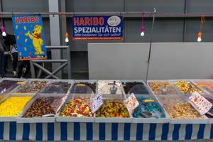 Haribo Spezialitäten Selbstbedienung von Fruchtgummi verschiedene Sorten