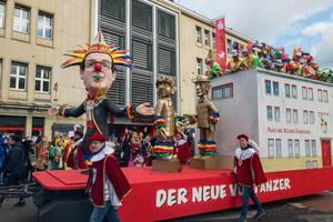 Haus des Kölner Karnevals und Der Neue Vortänzer - Kölner Karneval 2018