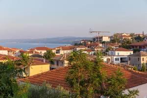 Häuser in Afitos, Chalkidiki
