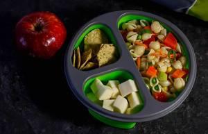 Haushaltsartikel zur Aufbewahrung von Lebensmittel und Transport von Mittagessen
