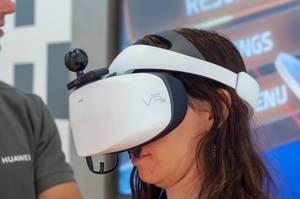 Hauwei VR2 VR-Headset auf der IFA Berlin 2018