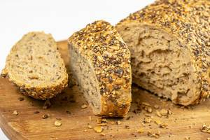 Healthy Chrono Bread with Sesame and Flax Seed