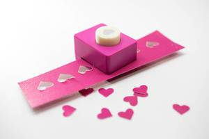 Heart paper shape cutter