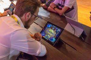 Hearthstone zocken auf Microsoft Surface