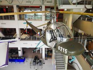 Helicopter at Brno technical museum