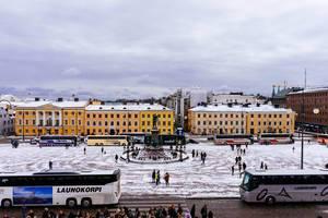 Helsinki city center / Helsinki Stadtzentrum