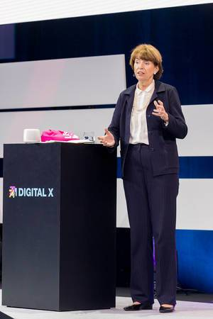 Henriette Reker, politicain at Digital X in Cologne