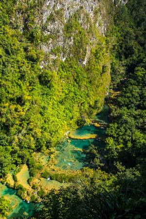 HIgh View of Semuc Champey  Flip 2019