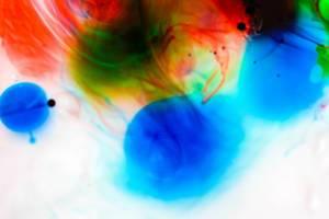 Hintergrund aus Wasserfarben