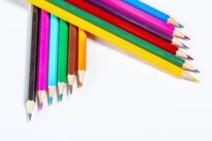 Hintergrundbild mit Buntstiften