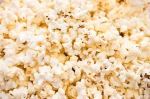 Hintergrundbild mit Popcorn