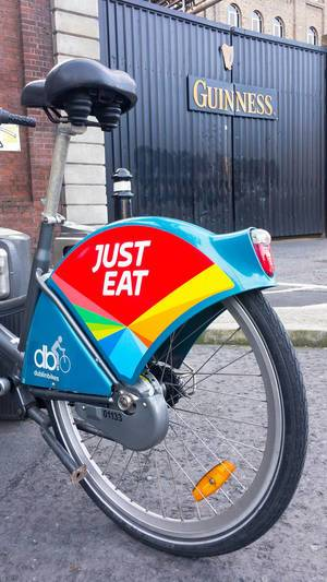 Hire bike in Dublin (DublinBikes)