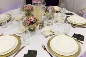 Hochzeit-Tischdekoration - TrauDich! 2017