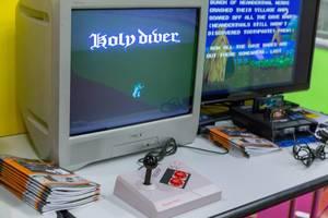 Holy Diver Spiel auf der Nintendo Famicom Spielkonsole