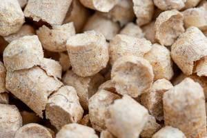 Holzpellets als Füllmaterial für die Toilette von Tieren
