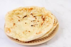 Homemade dough Tortillas on the plate (Flip 2019)
