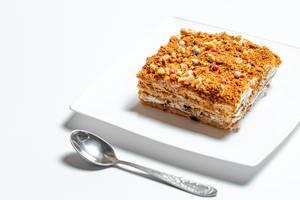 Homemade honey cake with walnuts (Flip 2020)
