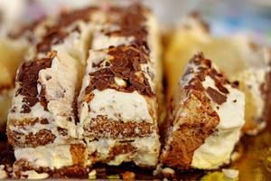 Homemade Mascarpone-Filled Cake