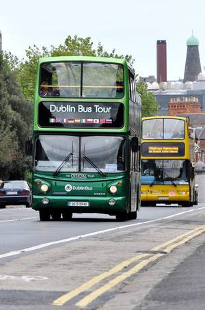 Hop-On, Hop-Off Tour in Dublin