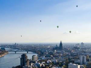 Hot Air Ballons in Cologne, Germany