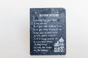 House Rules Sign , Decoration