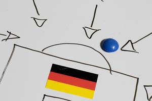 How to score a goal against Germany