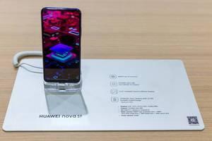 Huawei nova 5t Smartphone mit FullView Display und Fingerabdrucksensor
